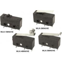 Mikroprzełącznik WLK-4MINI-HE 17mm.dzwignia z rol.