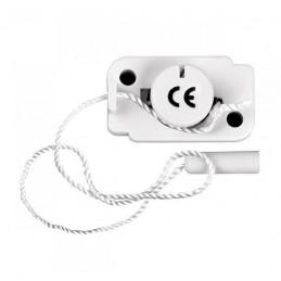Przełącznik pociągany sznurek biały