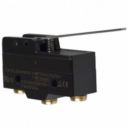 Mikroprzełącznik Z-15GW-B 15A 250V dźwignia 63mm - 00667