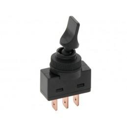 Przełącznik hebelkowy ON-OFF LED12V LIZAK ASW-14D czarny