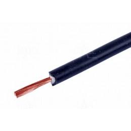 Przewód silikonowy Li2G - 1mm2 czarny Hirschmann / 00475