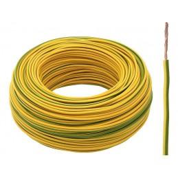 Przewód LgY 1x1,5mm Żółto-zielony