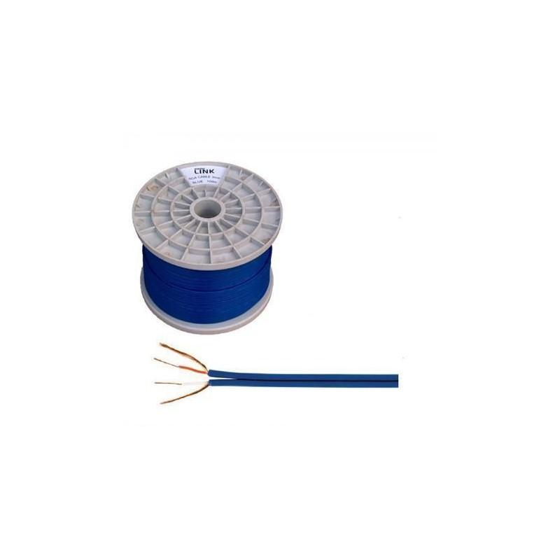Przewód 2xRCA 4mm niebieski / KAB0208