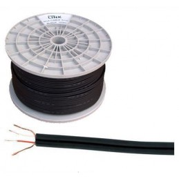 Przewód 2xRCA 3mm czarny / KAB0203
