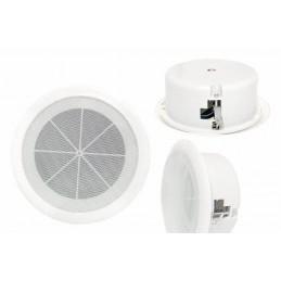 Głośnik sufitowy 16,5cm 10W 100V radiowęzłowy - Lx 166-5