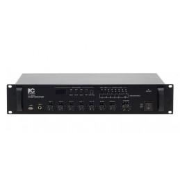 Wzmacniacz radiowęzłowy TI-120U miksujący 5 stref-120W