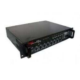 Wzmacniacz radiowęzłowy PA ZB1506SD (6-strefowy 150W USB+SD+radio) - 004387