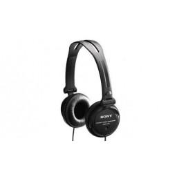 Słuchawki SONY MDR-V150 czarne - DJ obracane nauszniki