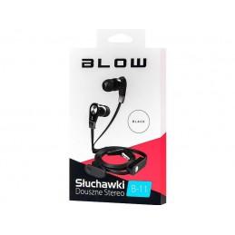 Słuchawki BLOW B-11 douszne BLACK - 32-731