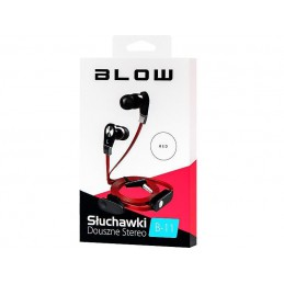Słuchawki BLOW B-11 douszne RED - 32-732