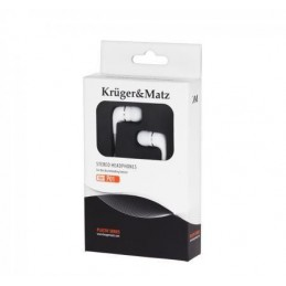 Słuchawki Kruger&Matz białe douszne KMP01