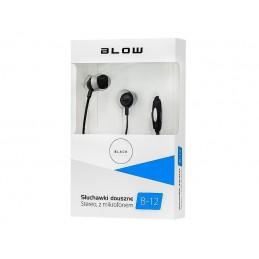 Słuchawki BLOW B-12 douszne BLACK - 32-751