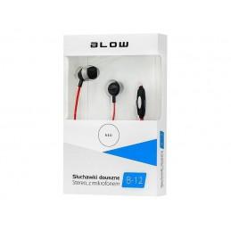 Słuchawki BLOW B-12 douszne RED - 32-752
