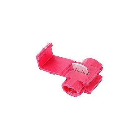 Szybkozłączka do kabli 0,5-1mm czerwona