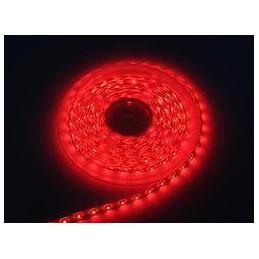 Taśma LED 12V czerwona zalewana 300/3528