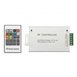 Sterownik do taśm LED RGB 20-key pilot radiowy - 70-962