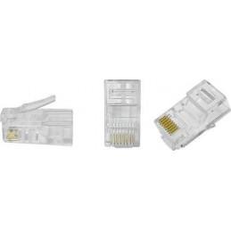 Wtyk telefoniczny 8p8c RJ45 na drut - 9332 - TEL0004-1