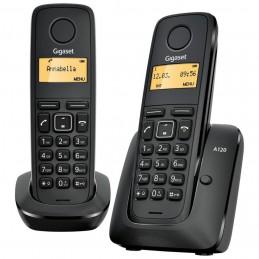 Telefon stacjonarny Siemens Gigaset A120 DUO (2 słuchawki) - bezprzewodowy