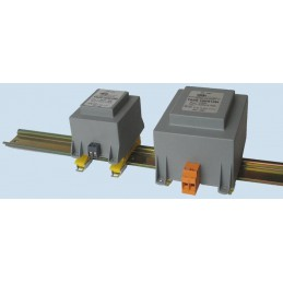 TSZS 35-027M 24V-1,45A Transformator sieciowy zalewany na szynę DIN