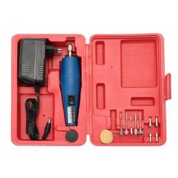Wiertarka mini 12V w walizce z zasilaczem - 1326